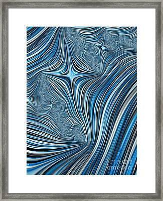 Cobolt Scream Framed Print by John Edwards