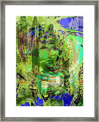 Cobwebs Of The Mind Framed Print by Seth Weaver