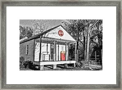Coca Cola In The Country Framed Print by Scott Pellegrin