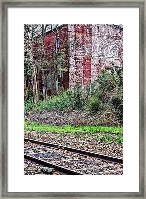 Coca Cola Framed Print by JC Findley