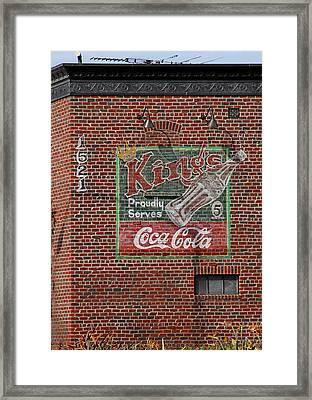 Coca Cola  Framed Print by Viktor Savchenko