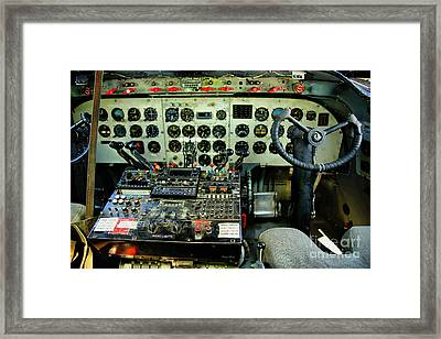 Cockpit Framed Print by Cheryl Young