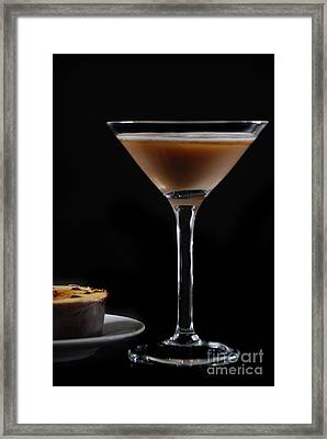 Cocktail And Dessert Framed Print by HD Connelly