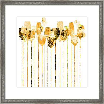 Cocktail Hour 4 Framed Print by Angelina Vick