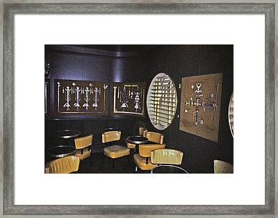 Cocktail Lounge Framed Print by John Harding Photography