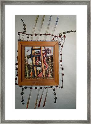 Coco T - Framed Framed Print by Nancy Mauerman