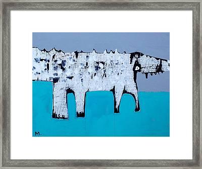 Cocodrillus Framed Print by Mark M  Mellon