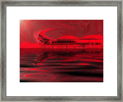 Code Red Framed Print by Wendy J St Christopher