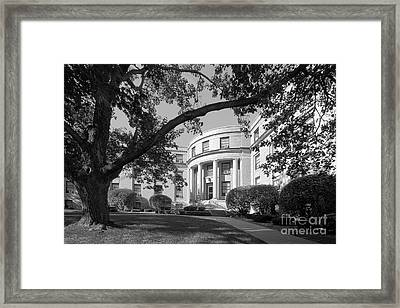 Coe College Greene Hall Framed Print by University Icons