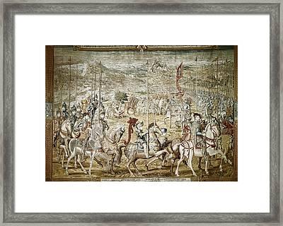 Coecke Van Aelst, Pieter  1502-1550 Framed Print by Everett