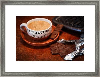 Coffee Break Framed Print by Alexander Senin