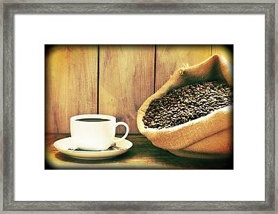 Coffee Framed Print by Amanda And Christopher Elwell
