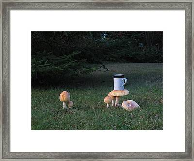 Coffee-rooms Framed Print by Donnie Freeman