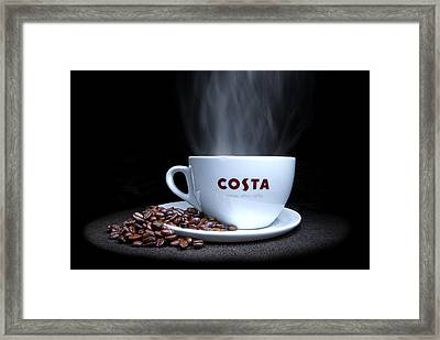 Coffee Time Framed Print by Rob Guiver