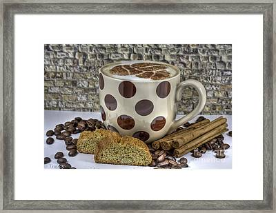 Coffee Time Framed Print by Tracy  Hall