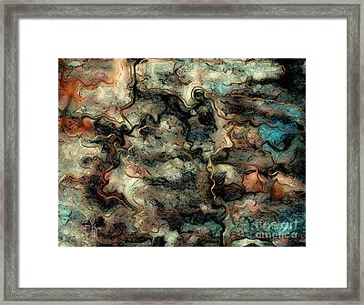 Cogitation Framed Print by Leo Symon