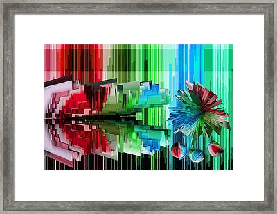 Cognitive Dissonance 3 Framed Print by Angelina Vick