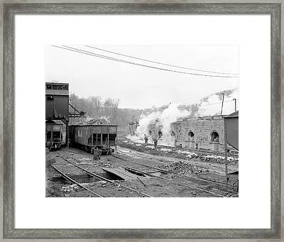 Coke Ovens Framed Print by Library Of Congress