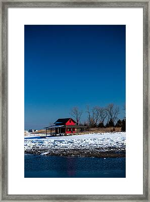 Cold And Empty Framed Print by Karol Livote