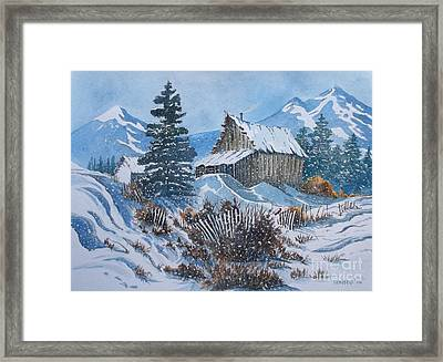 Cold  Framed Print by Don Hand
