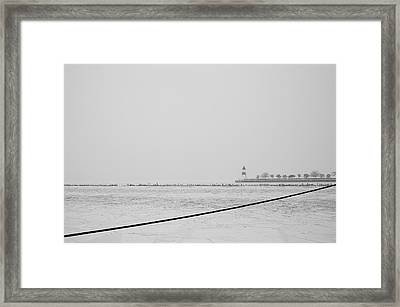 Cold Framed Print by Joanna Madloch