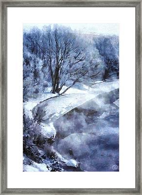 Cold Morning Framed Print by Gun Legler