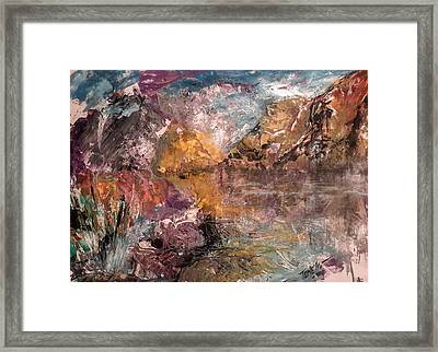 Cold Morning Light Framed Print by Mark Tonelli