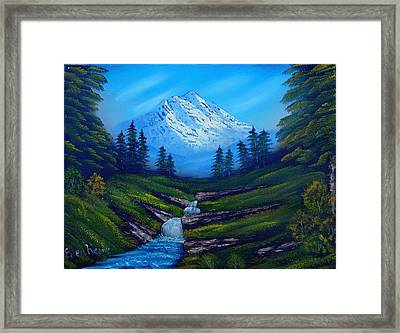 Cold Mountain Framed Print by Fineartist Ellen