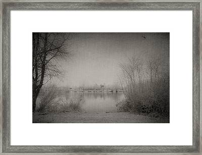 Cold Time Framed Print by Svetlana Sewell