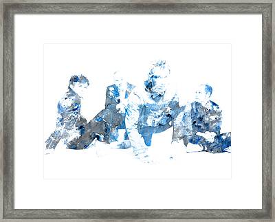 Coldplay Framed Print by Brian Reaves