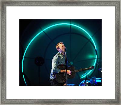 Coldplay Framed Print by Rafa Rivas