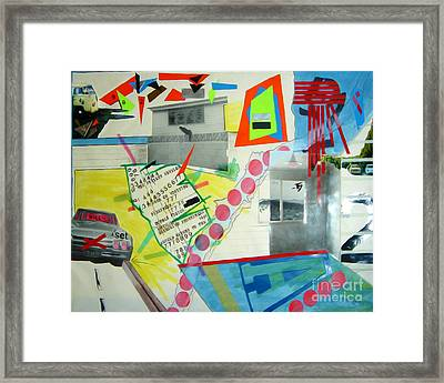 Collage 444 Framed Print by Bruce Stanfield