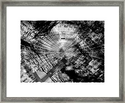 Collapsed Framed Print by Jack Zulli