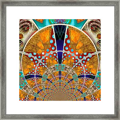 Collective 01 Of 26 Framed Print by Wendy J St Christopher