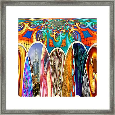 Collective 07 Of 26 Framed Print by Wendy J St Christopher