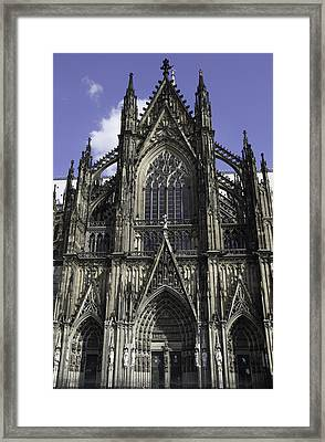 Cologne Cathedral 01 Framed Print by Teresa Mucha