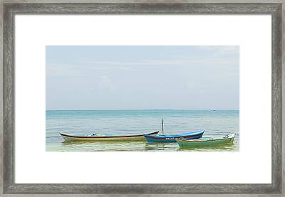 Colombia, San Bernardo Islands Framed Print by Matt Freedman