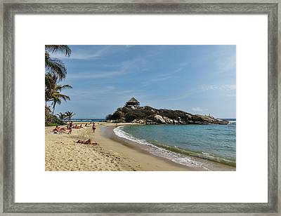 Colombia, Tayrona National Park, Cabo Framed Print by Matt Freedman