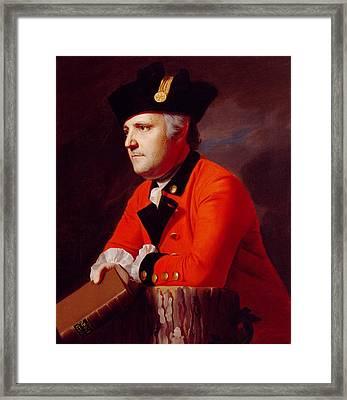 Colonel John Montresor Framed Print by John Singleton Copley