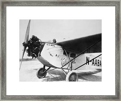 Colonial Air Transport Framed Print by Henri Bersoux