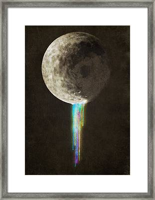 Color Bleed Framed Print by Eric Fan