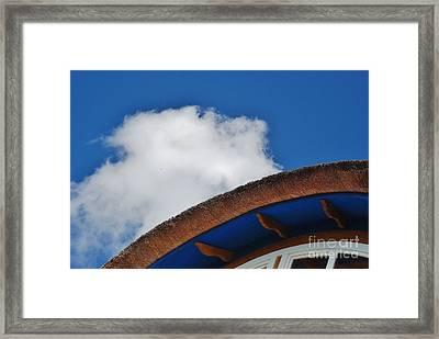 Color Blue Framed Print by Gene Mark