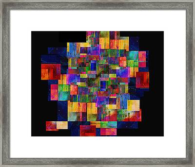 Color Fantasy - Abstract - Art Framed Print by Ann Powell