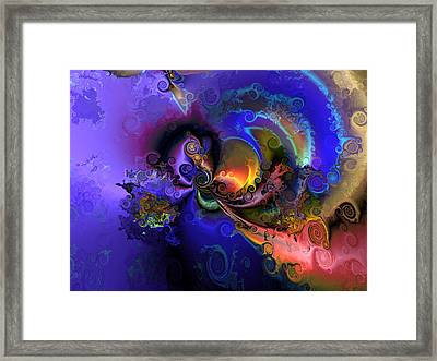 Color Gone Amok Framed Print by Claude McCoy