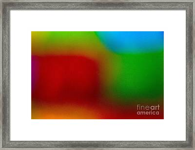 Color Me Happy Framed Print by Imani  Morales