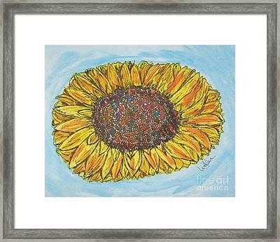 Color Me Sunshine Framed Print by Marcia Weller-Wenbert