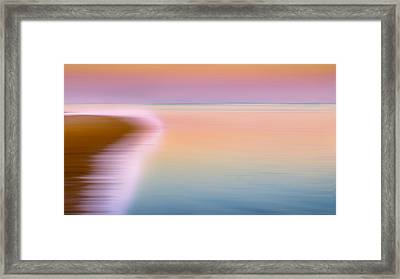 Color Of Morning Framed Print by Bill Wakeley