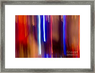 Color Rush 1 - Natalie Kinnear Photography Framed Print by Natalie Kinnear