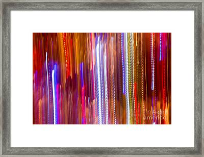 Color Rush 2 - Natalie Kinnear Photography Framed Print by Natalie Kinnear