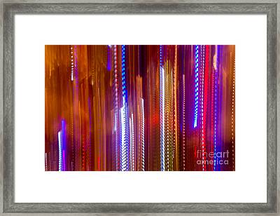 Color Rush 3 - Natalie Kinnear Photography Framed Print by Natalie Kinnear